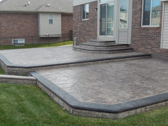 Stamped Concrete Patio Contractor