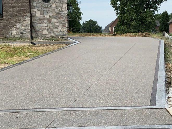 Concrete Driveway in ,  (1021)
